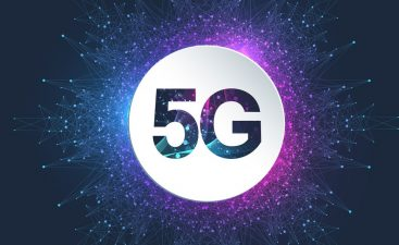5G Logo network wireless systems and internet vector illustration. 5G banner concept. Vector sign, symbol 5G. Technology sci-fi concept.